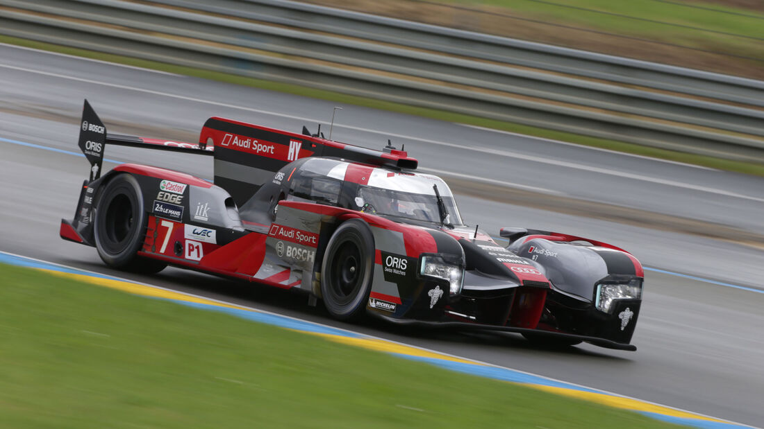 Andre Lotterer - 24h Le Mans 2016 - Audi R18