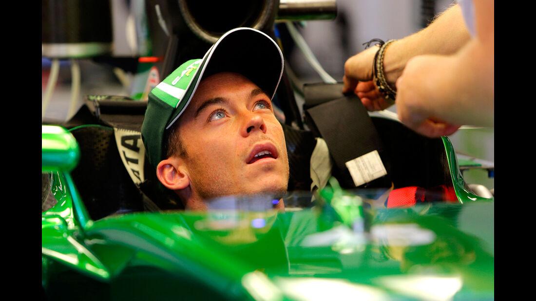 Andre Lotterer - Caterham - GP Belgien 2014