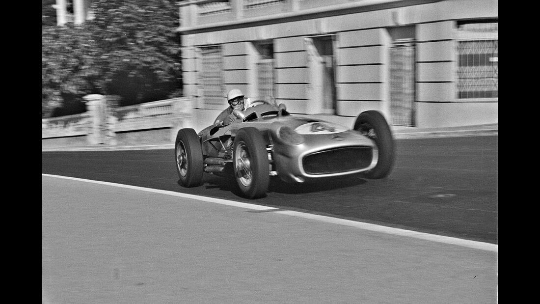 Andre Simon - Mercedes W 196 R - GP Monaco 1955