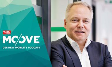 Andre Wehner, CDO von Skoda im Moove-Podcast