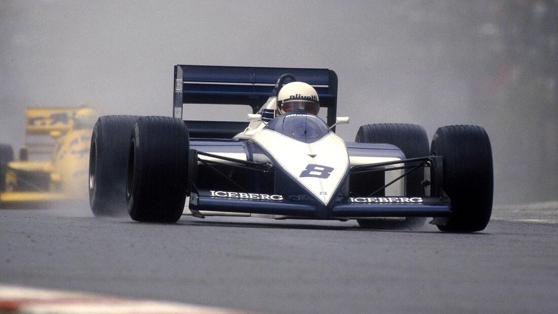 Andrea de Cesaris - Brabham-BMW 1987