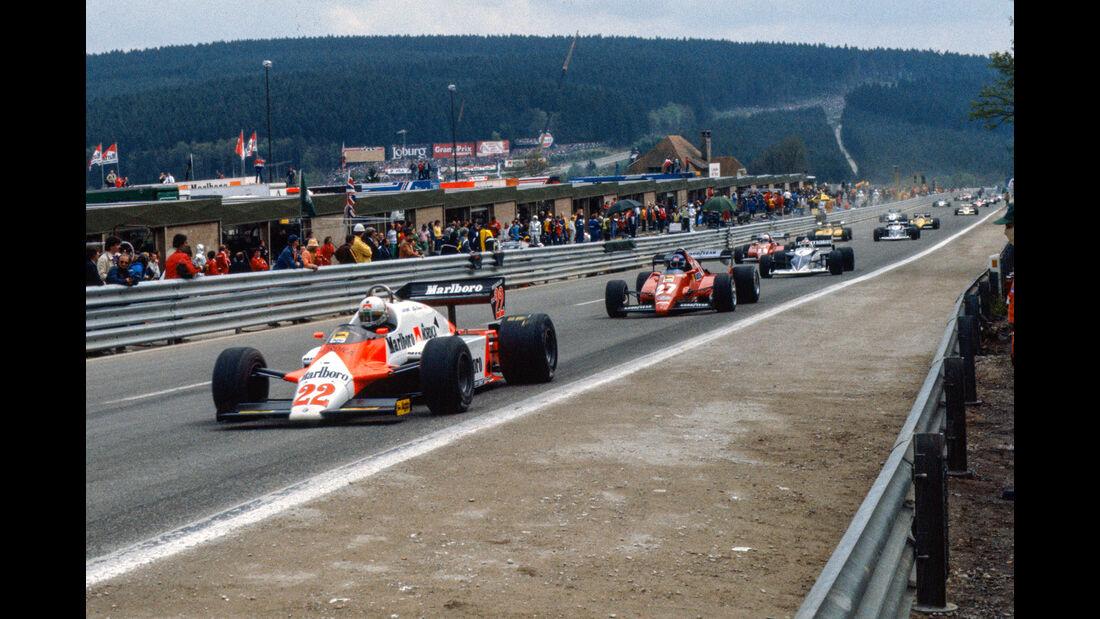 Andrea de Cesaris - GP Belgien 1983