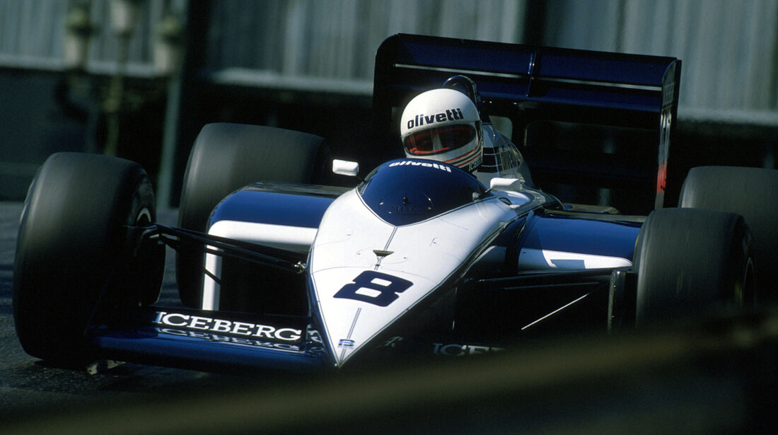 Andrea de Cesaris - GP Monaco 1987 - Brabham