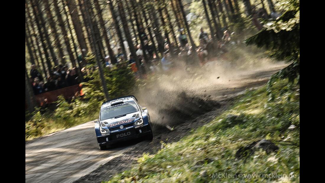 Andreas Mikkelsen - Rallye Finnland 2015