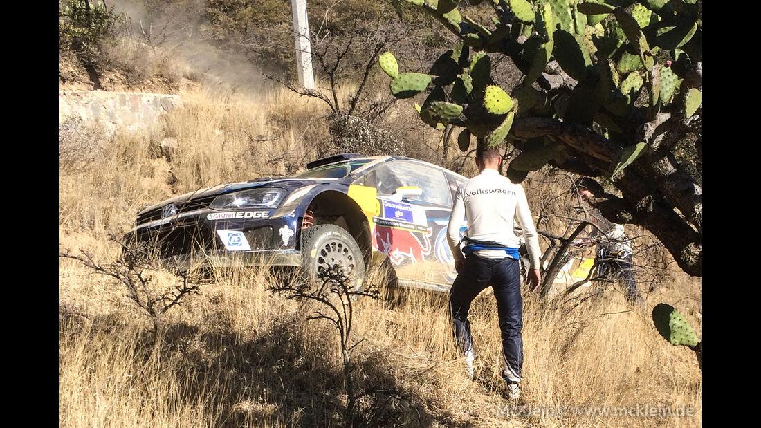 Andreas Mikkelsen - Rallye Mexiko 2016