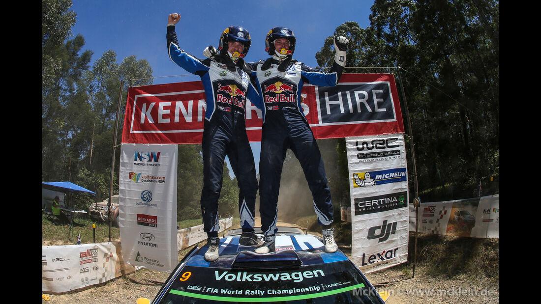 Andreas Mikkelsen - WRC Australien 2016