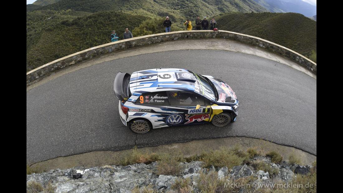 Andreas Mikkelsen - WRC - Rallye Frankreich - Tour de Corse - Korsika - 2015