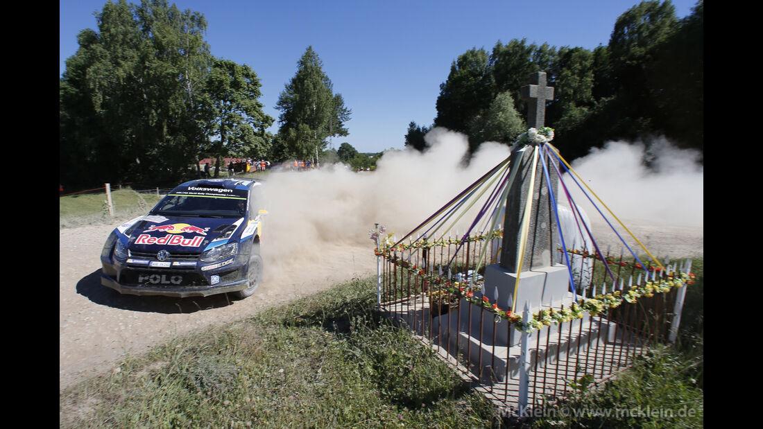 Andreas Mikkelsen - WRC Rallye Polen 2015