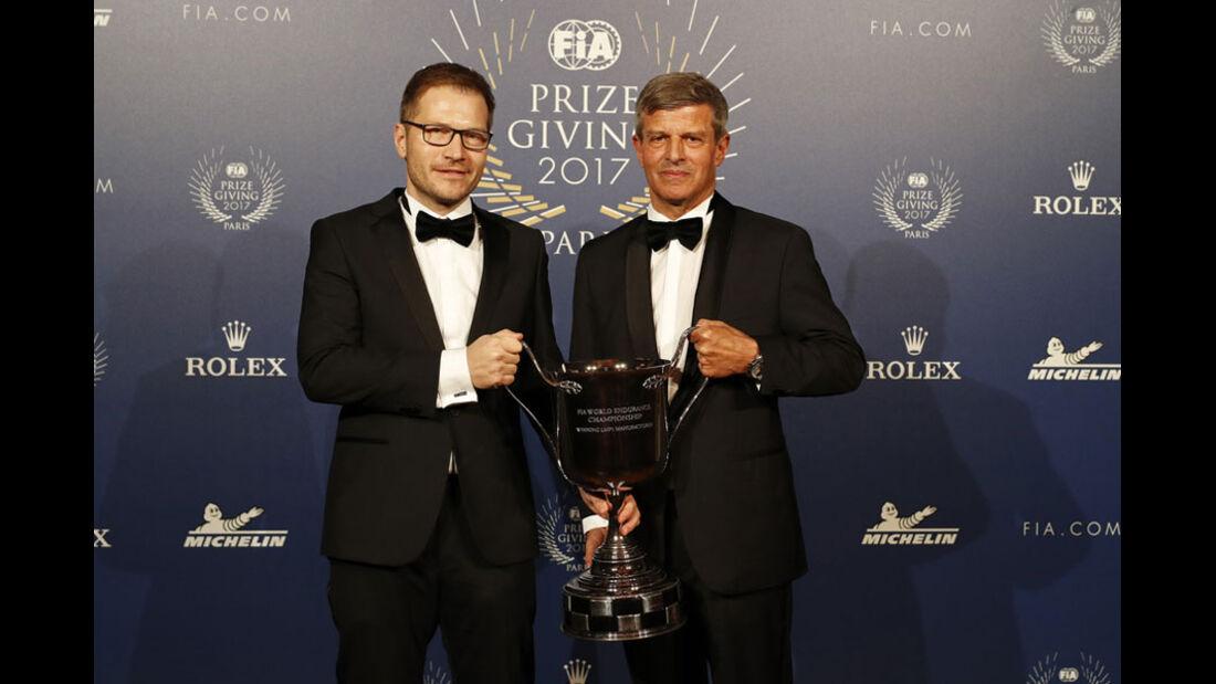 Andreas Seidl - Fritz Enzinger - FIA Preisverleihung - Versailles