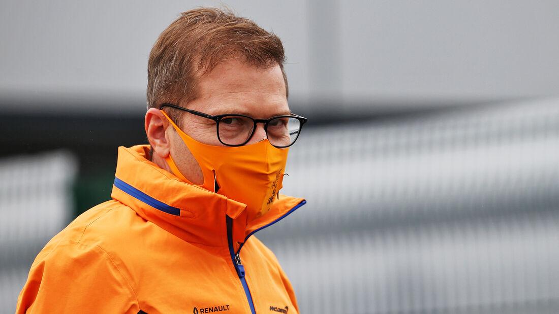 Andreas Seidl - McLaren - 70 Jahre F1 GP - Silverstone - Formel 1 - 6. August 2020