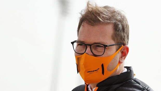 Andreas Seidl - McLaren - F1 - Formel 1 - Testfahrten - Bahrain 2021