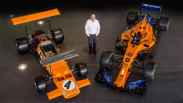 Andreas Seidl - McLaren - Fabrik 2019