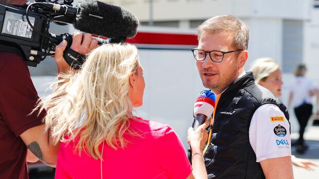 Andreas Seidl - McLaren - Formel 1 - GP Spanien - Barcelona - 11. Mai 2019