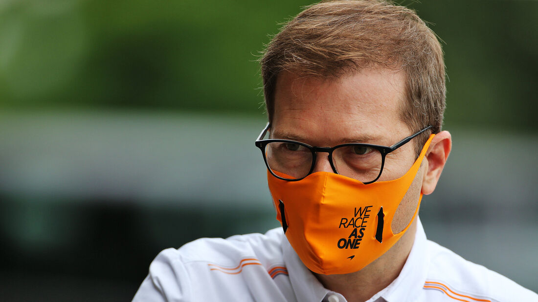 Andreas Seidl - McLaren - Formel 1 - GP Ungarn - Budapest - 16. Juli 2020