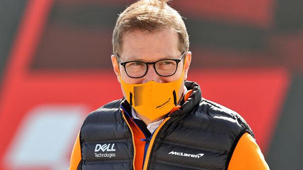 Andreas Seidl - McLaren - GP Portugal 2021