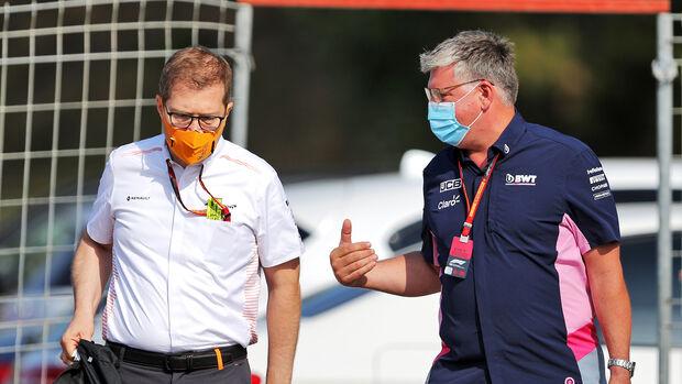Andreas Seidl & Otmar Szafnauer - F1 2020