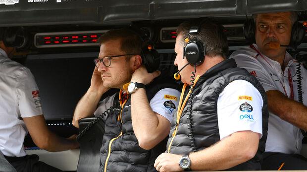 Andreas Seidl & Zak Brown - GP Italien 2019