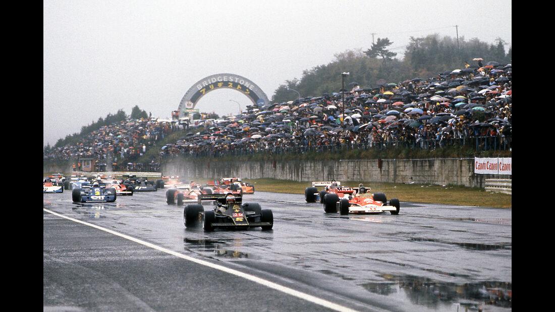 Andretti & Hunt - GP Japan 1976