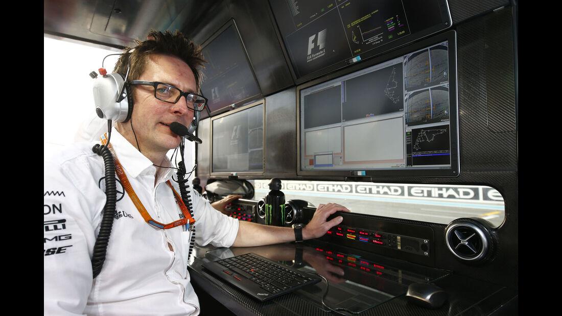 Andrew Shovlin - Mercedes - GP Abu Dhabi 2016 - Formel 1