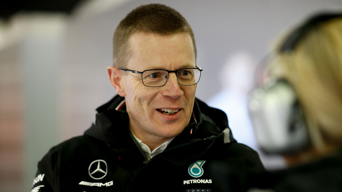 Andy Cowell - Mercedes - Formel 1