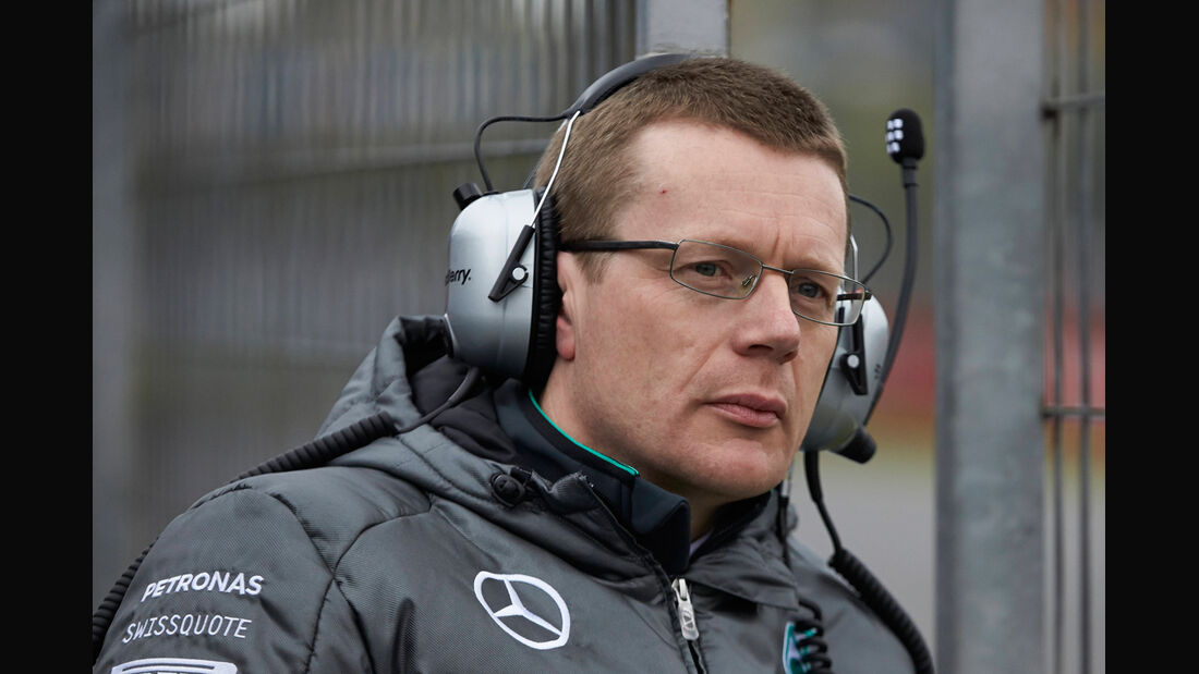 Andy Cowell - Mercedes - Jerez F1-Test 2014
