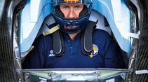 Andy Green, Bloodhound SSC, Raketenfahrzeug, Cockpit