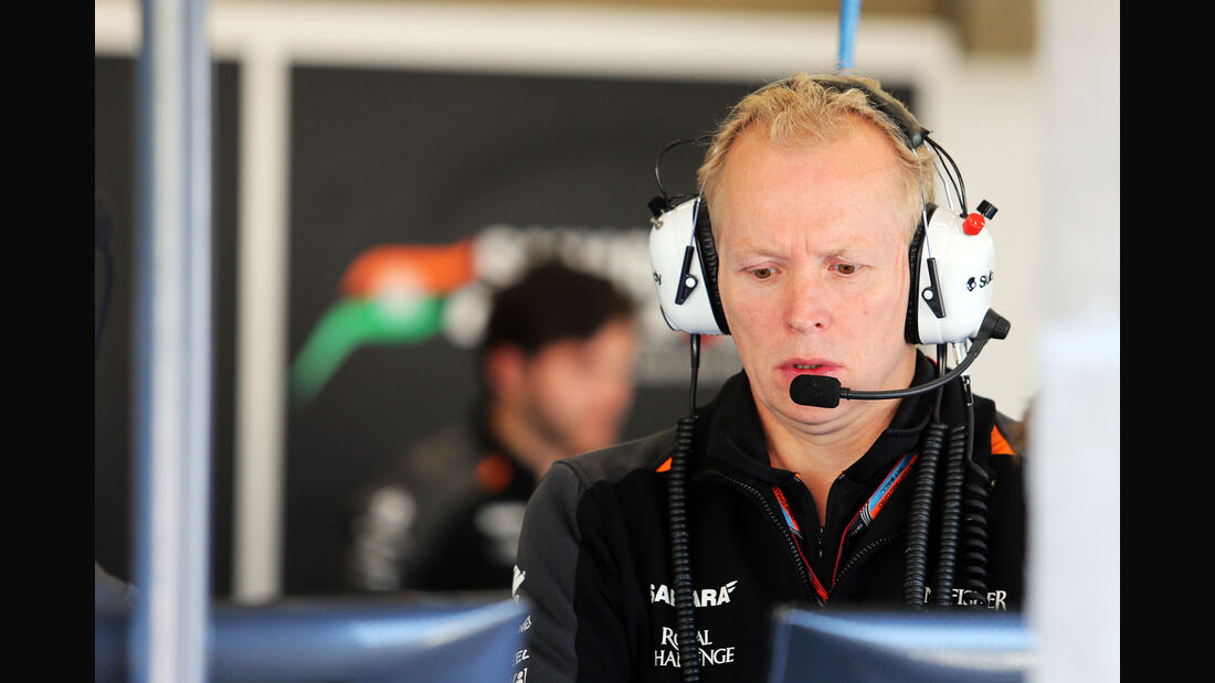Andy Green - Force India - Formel 1 - GP Belgien - Spa-Francorchamps - 21. August 2015