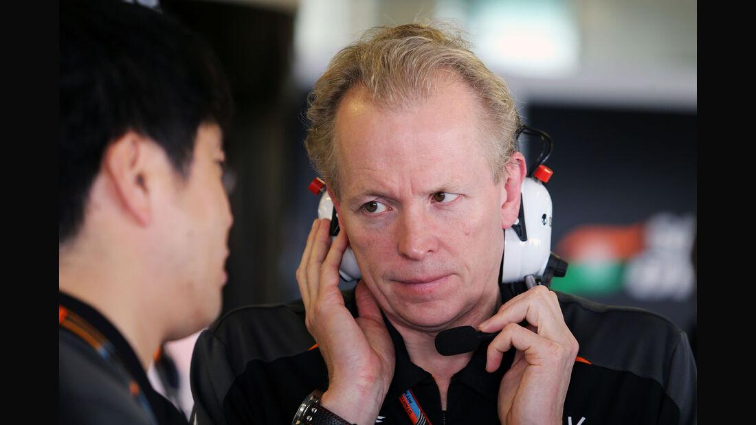 Andy Green - Force India - GP Abu Dhabi 2015