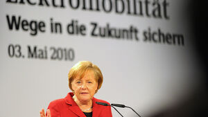 Angela Merkel, Elektromobilität