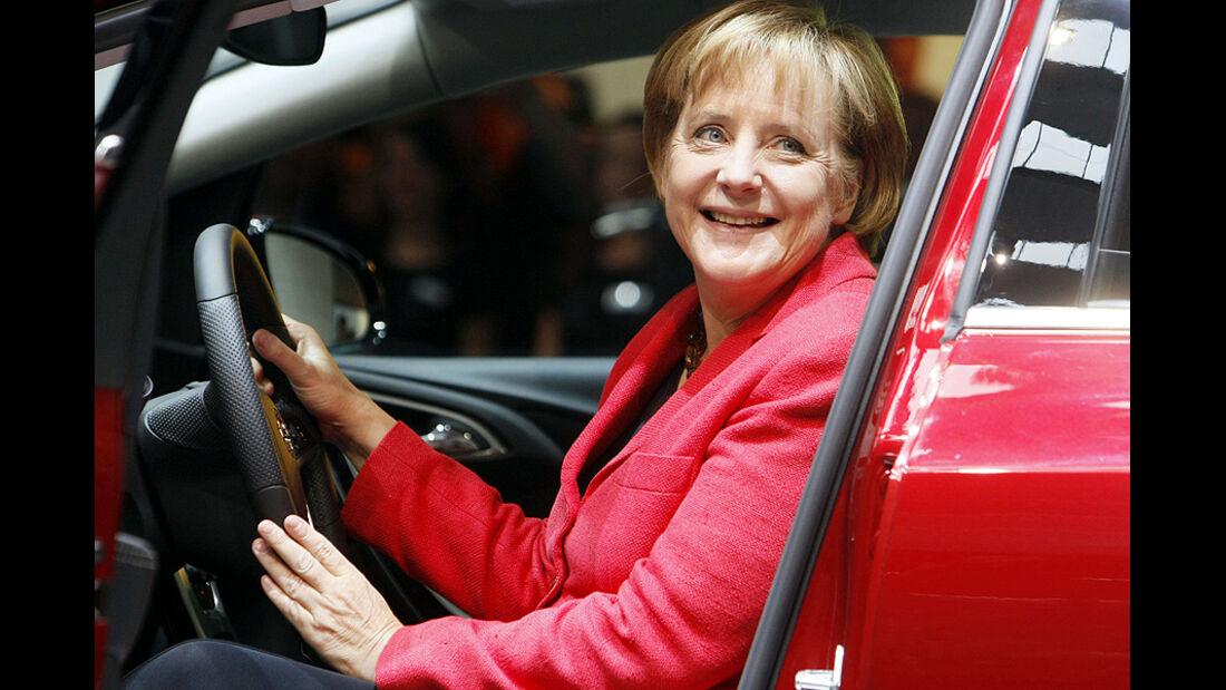 Angela Merkel, IAA 2009