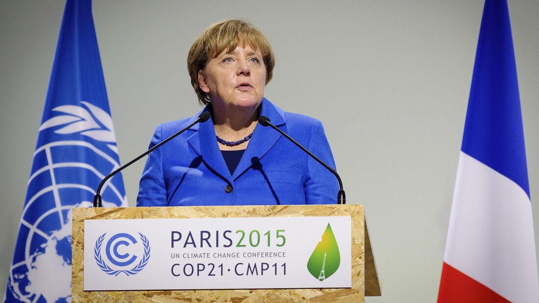 Angela Merkel, Klimawandel