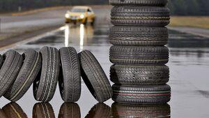 Anhand der DOT-Nummer lässt sich das Reifenalter ablesen.