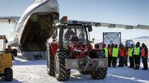Antarctica 2 Expedition zum Südpol mit Massey Ferguson-Traktor 5610