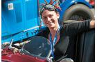 Antonia Schmidt im Austin Seven Ulster