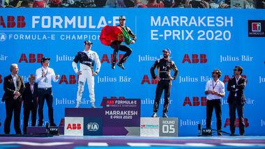 Antonio Felix da Costa - DS Techeetah - Formel E - Marrakesch 2020