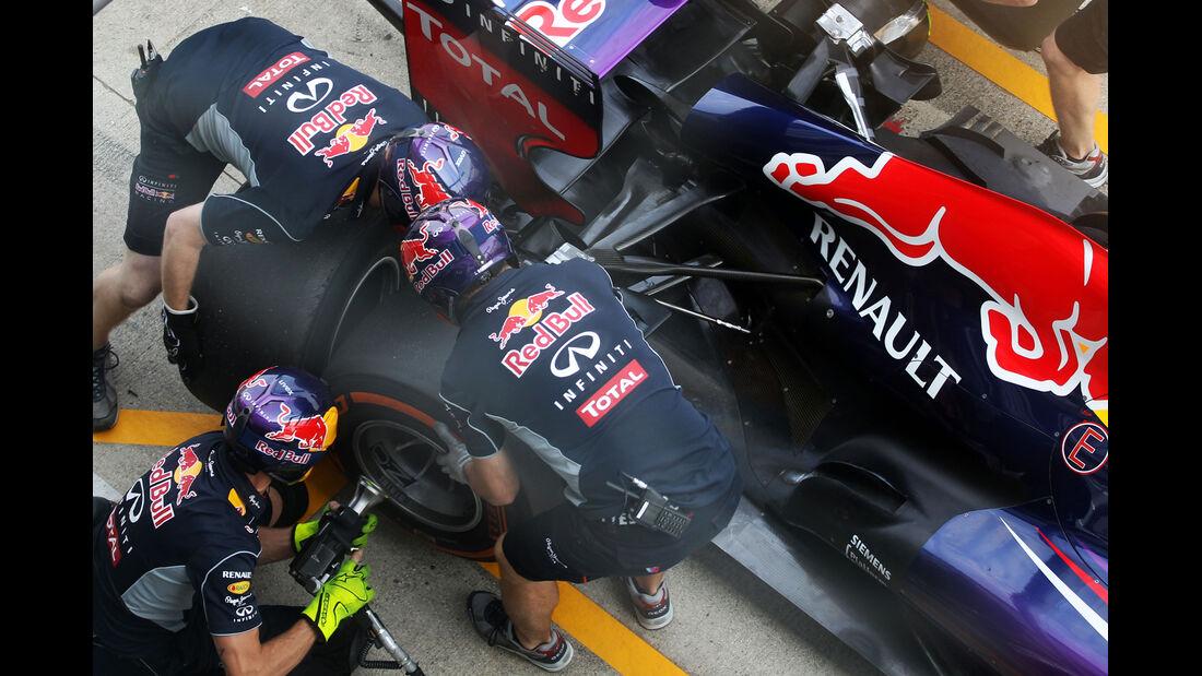 Antonio Felix da Costa - Red Bull - Formel 1 - Young Driver Test - Silverstone - 18. Juli 2013