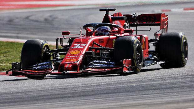 Antonio Fuoco - Ferrari - Formel 1 - Test - Barcelona - 15. Mai 2019