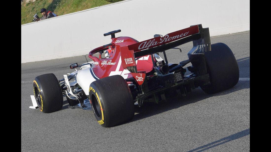 Antonio Giovinazzi - Alfa Romeo - Barcelona - F1-Test - 28. Februar 2019