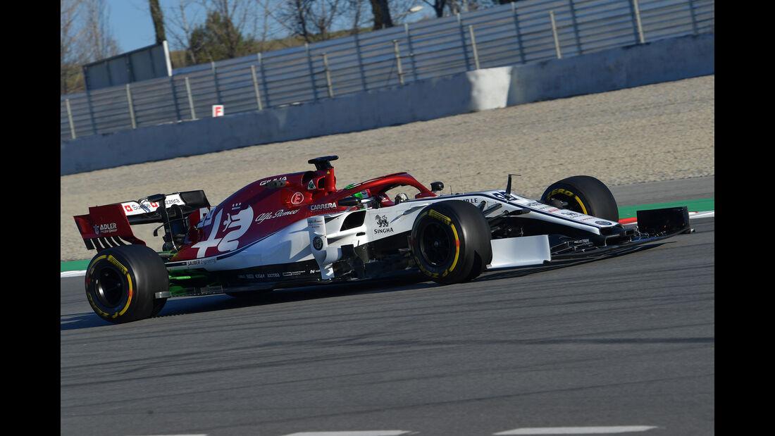 Antonio Giovinazzi - Alfa Romeo - F1-Test - 26. Februar 2019