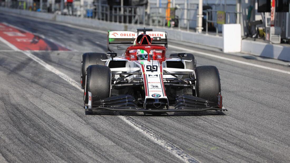 Antonio Giovinazzi - Alfa Romeo - F1-Test - Barcelona - 19. Februar 2020