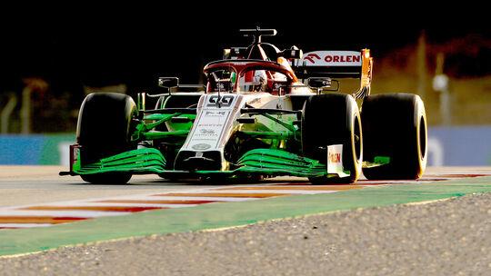 Antonio Giovinazzi - Alfa Romeo - F1-Test - Barcelona - 2020