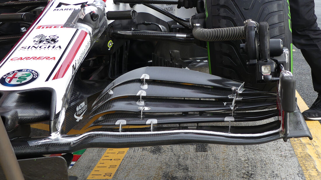 Antonio Giovinazzi - Alfa Romeo - F1-Test - Barcelona - 27. Februar 2020