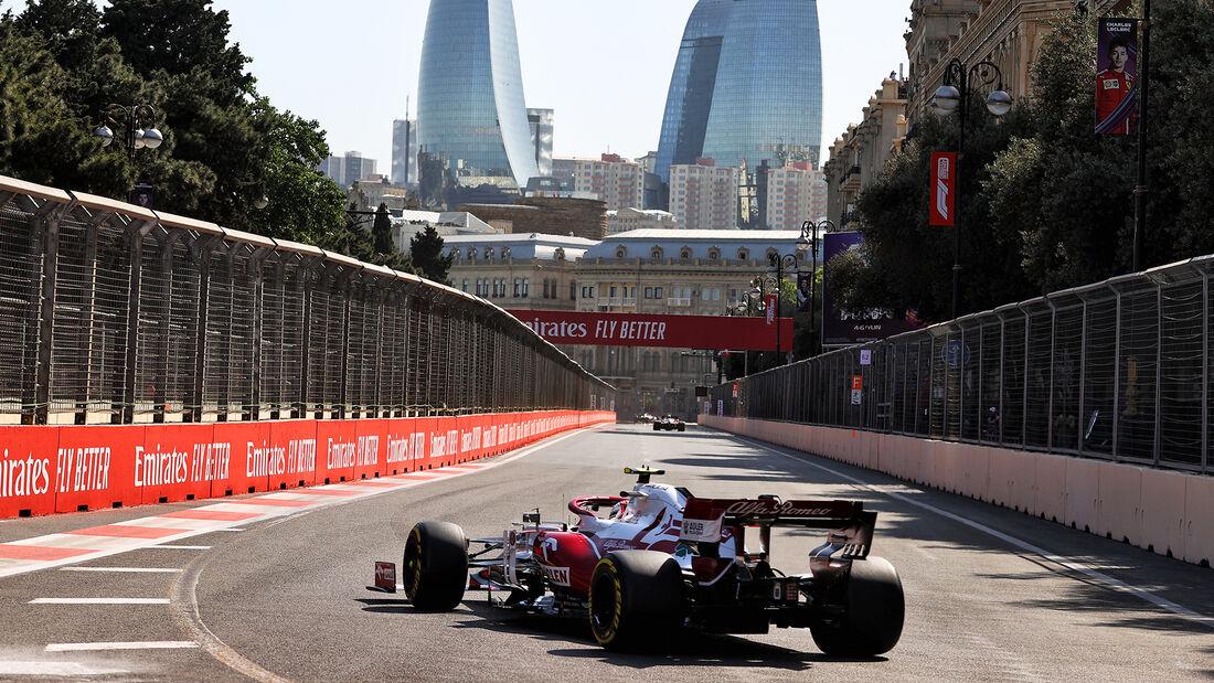 Antonio Giovinazzi - Alfa Romeo - Formel 1 - GP Aserbaidschan - Baku - Freitag - 4.6.2021