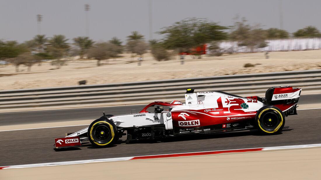Antonio Giovinazzi - Alfa Romeo - Formel 1 - GP Bahrain - Freitag - 26.3.2021