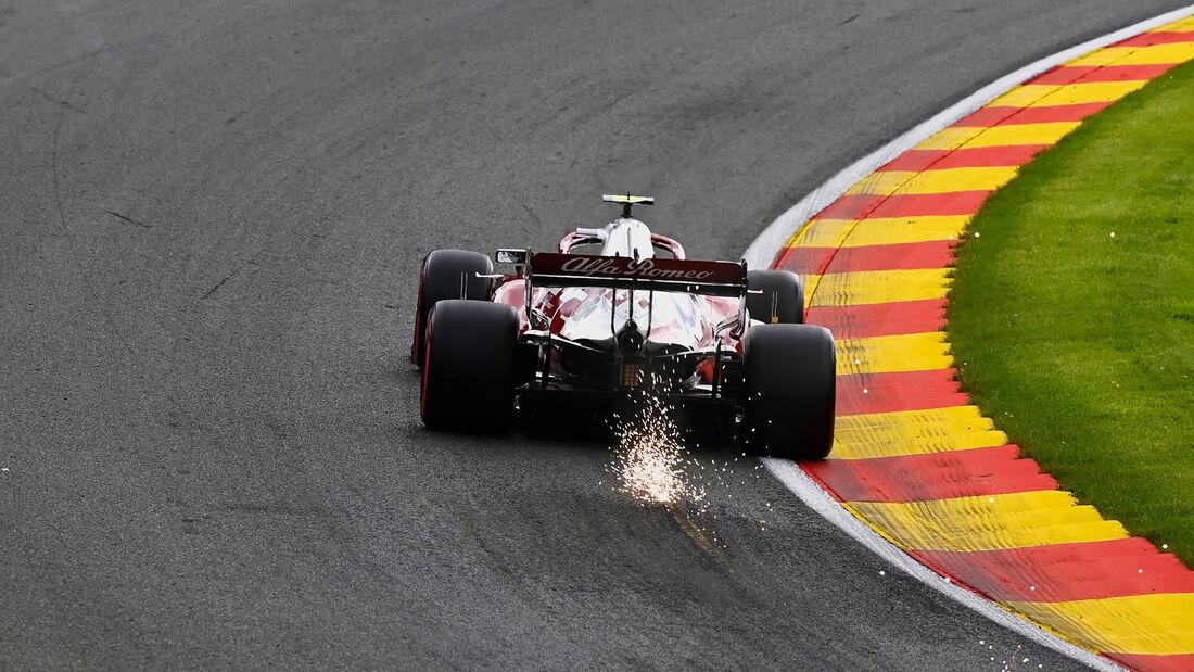 Antonio Giovinazzi - Alfa Romeo - Formel 1 - GP Belgien - Spa-Francorchamps - 27. August 2021