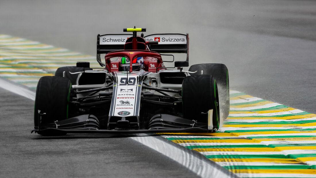 Antonio Giovinazzi - Alfa Romeo - Formel 1 - GP Brasilien - Sao Paulo - 15. November 2019
