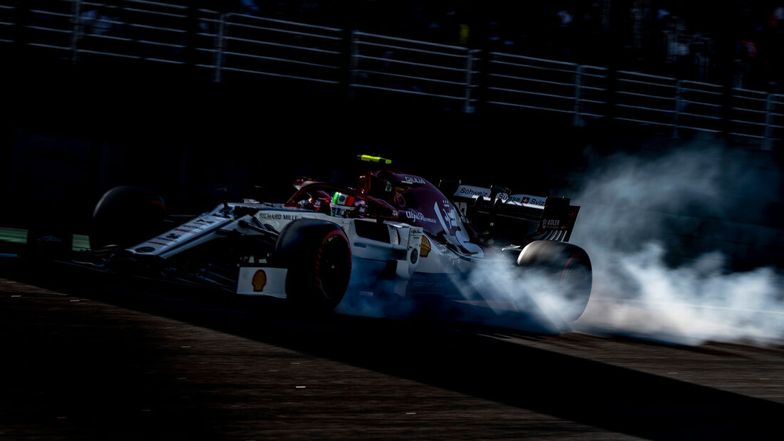 Antonio Giovinazzi - Alfa Romeo - Formel 1 - GP Brasilien - Sao Paulo - 16. November 2019