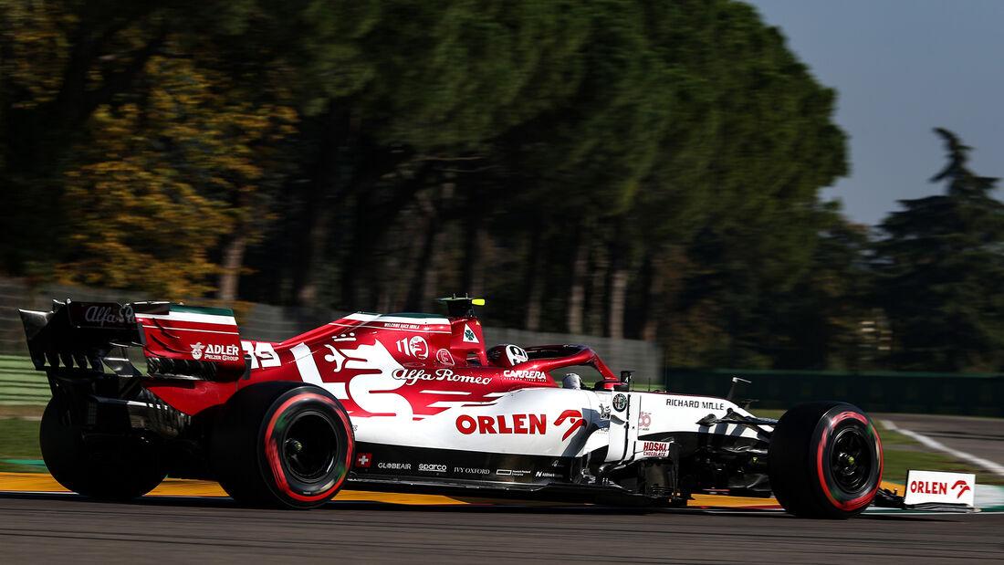 Antonio Giovinazzi - Alfa Romeo - Formel 1 - GP Emilia-Romagna - Imola - Samstag - 31.10.2020