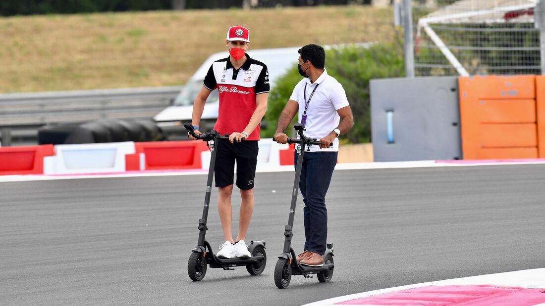 Antonio Giovinazzi - Alfa Romeo - Formel 1 - GP Frankreich - 17. Juni 2021