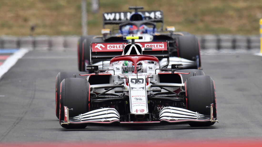 Antonio Giovinazzi - Alfa Romeo - Formel 1 - GP Frankreich - Le Castellet - 19. Juni 2021